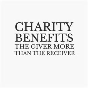 IT PAYS TO BE CHARITABLE (2): Devotion for Tuesday September 27, 2016
