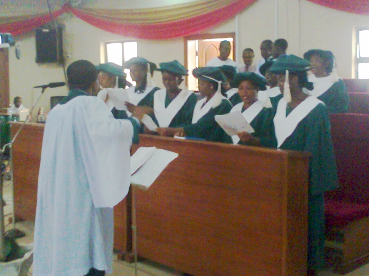 Place of Choristers inWorship